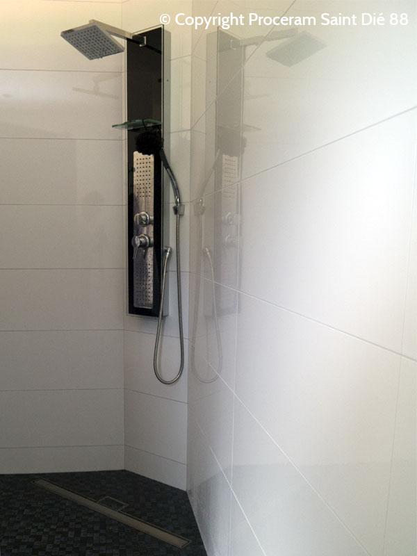 mosaique wc suspendu dtail faence mosaique et portesavon mural comment poser un wc suspendu p. Black Bedroom Furniture Sets. Home Design Ideas